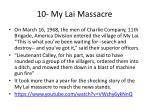 10 my lai massacre