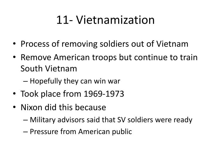 11- Vietnamization