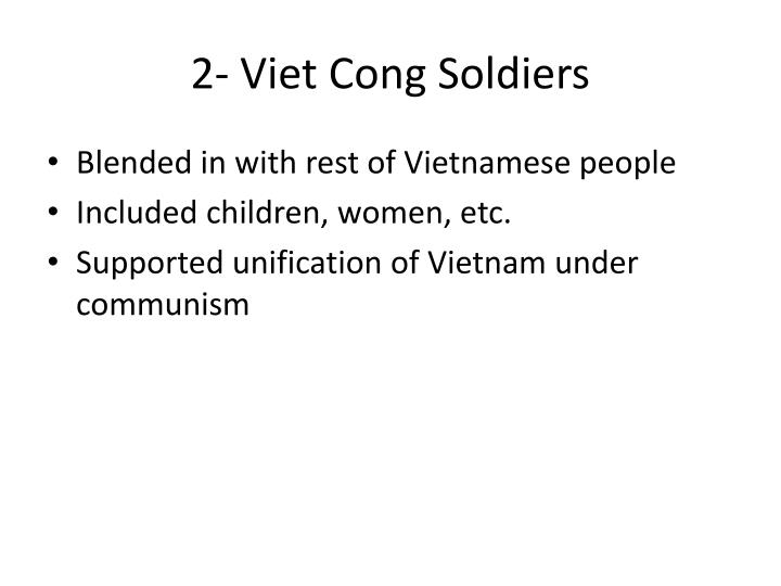 2 viet cong soldiers