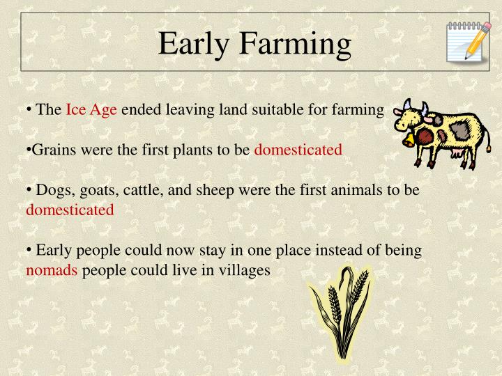 Early Farming