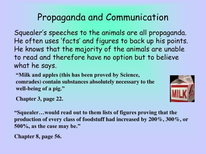 Propaganda and Communication