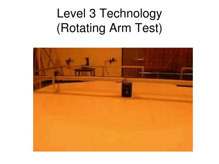 Level 3 Technology