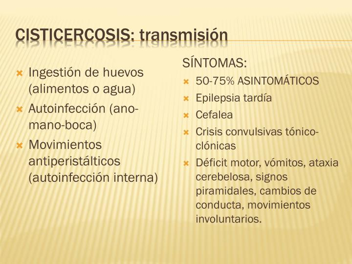 Cisticercosis: