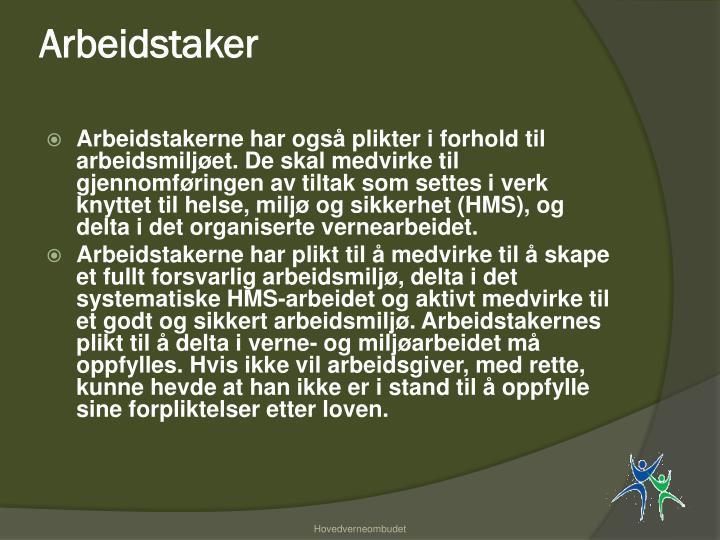 Arbeidstaker