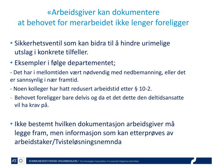 «Arbeidsgiver