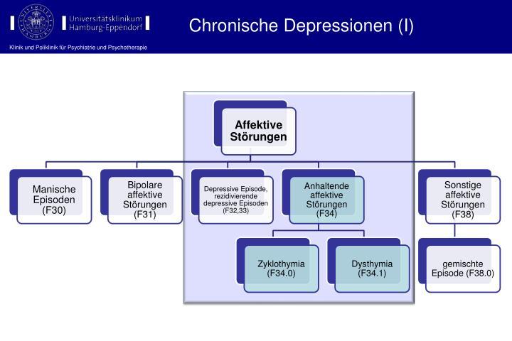 Chronische Depressionen (I)