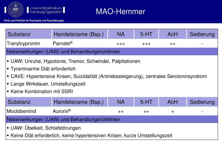 MAO-Hemmer