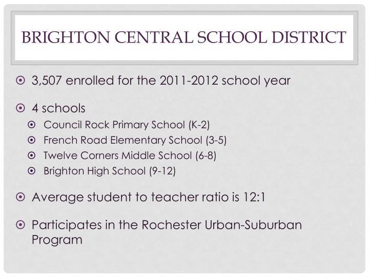 Brighton Central School District