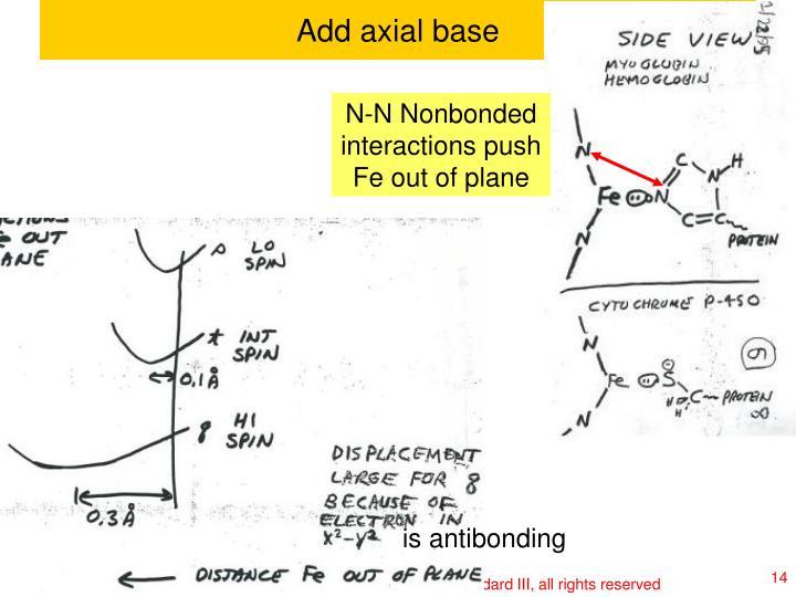 Add axial base