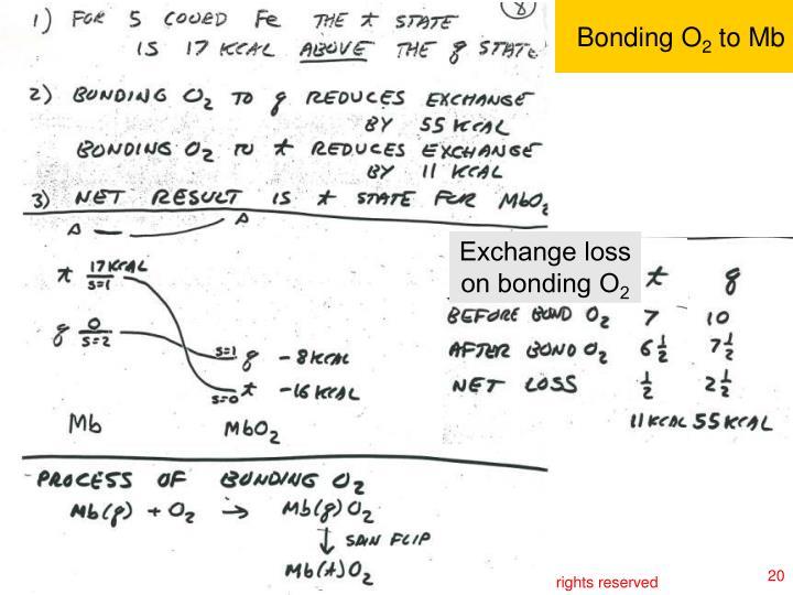 Bonding O