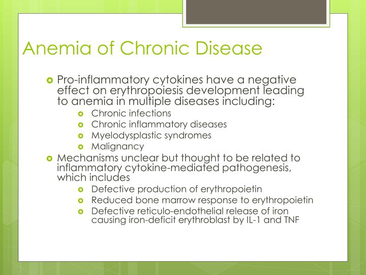 Anemia of Chronic Disease