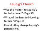 leunig s church