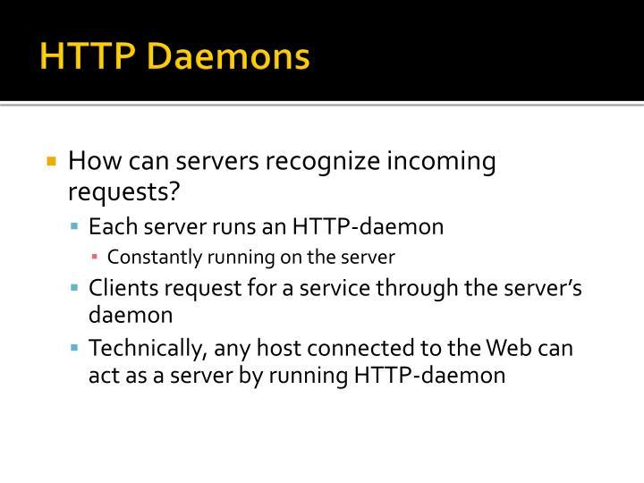 HTTP Daemons