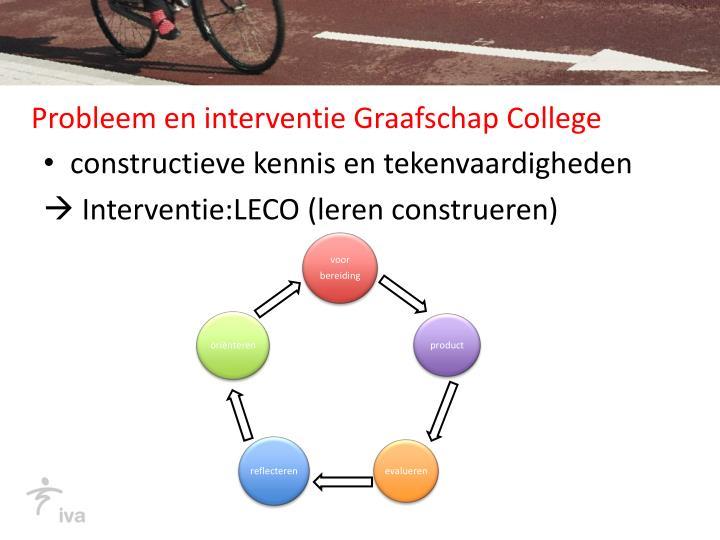 Probleem en interventie Graafschap College
