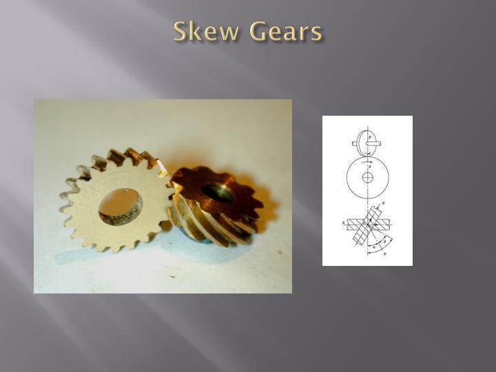 Skew Gears