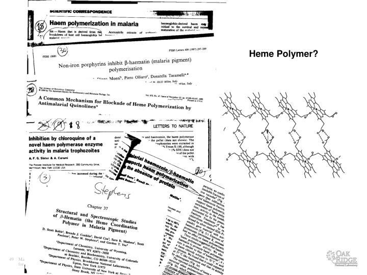 Heme Polymer?