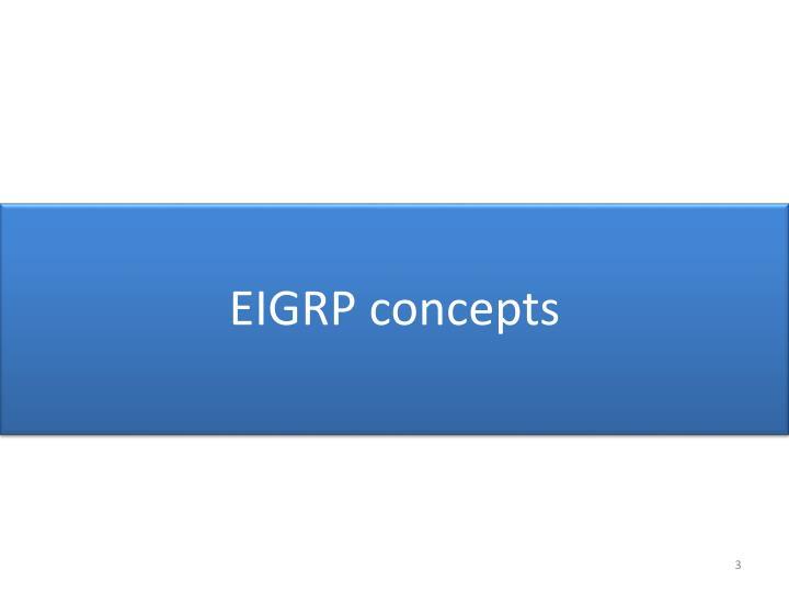 EIGRP concepts