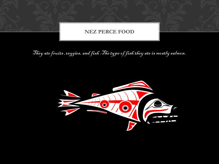 Nez Perce food