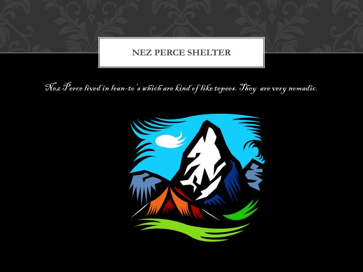 Nez Perce shelter