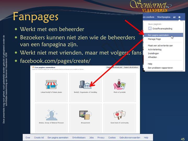 Fanpages