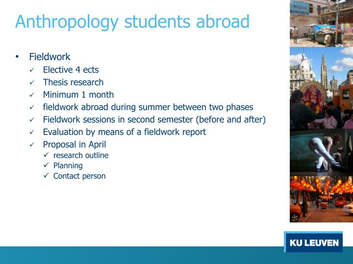 Anthropology students abroad