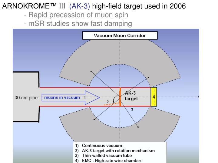 ARNOKROME™ III