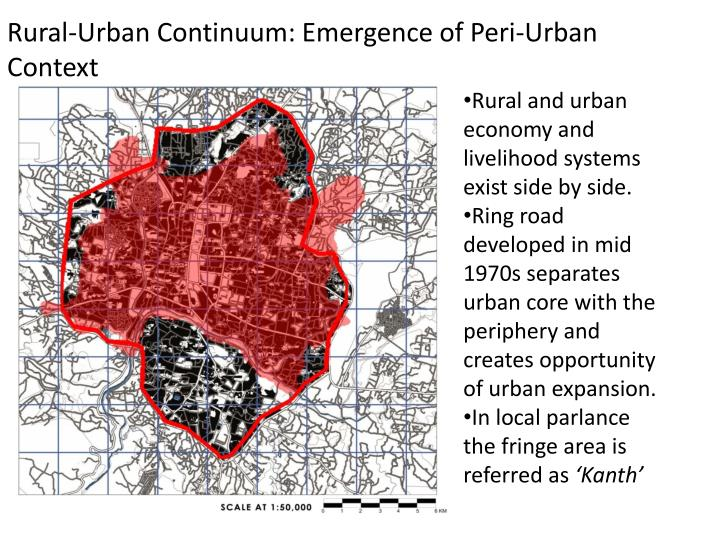 Rural-Urban Continuum: Emergence of