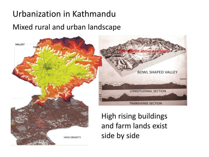 Urbanization in Kathmandu