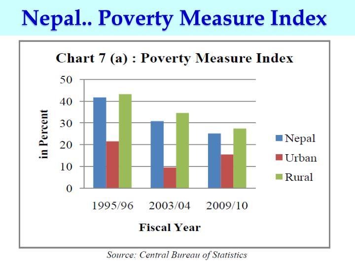 Nepal.. Poverty Measure Index