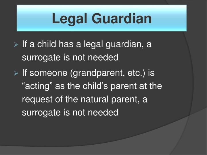 Legal Guardian