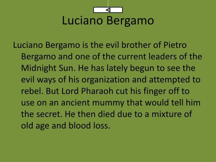 Luciano Bergamo