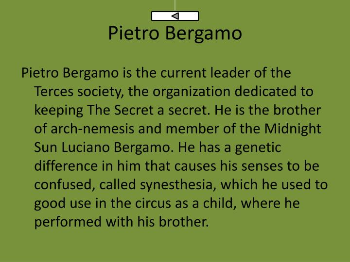Pietro Bergamo