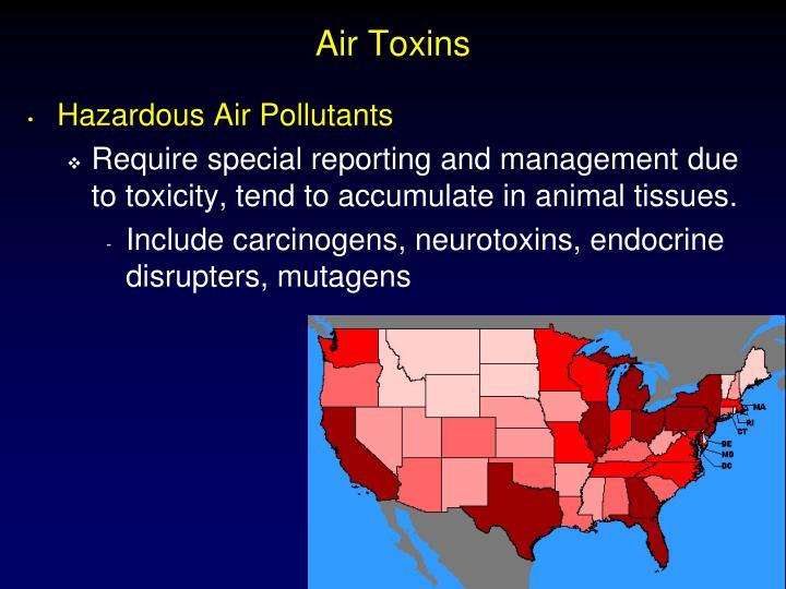 Air Toxins