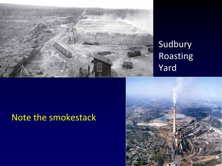 Note the smokestack