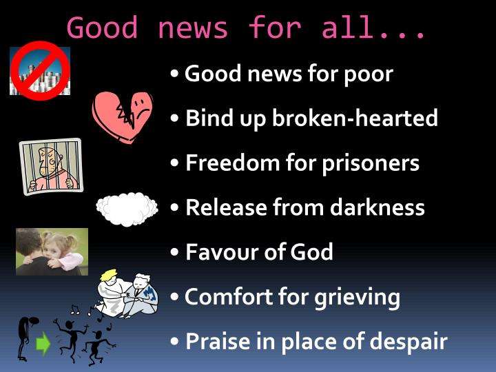 Good news for all...