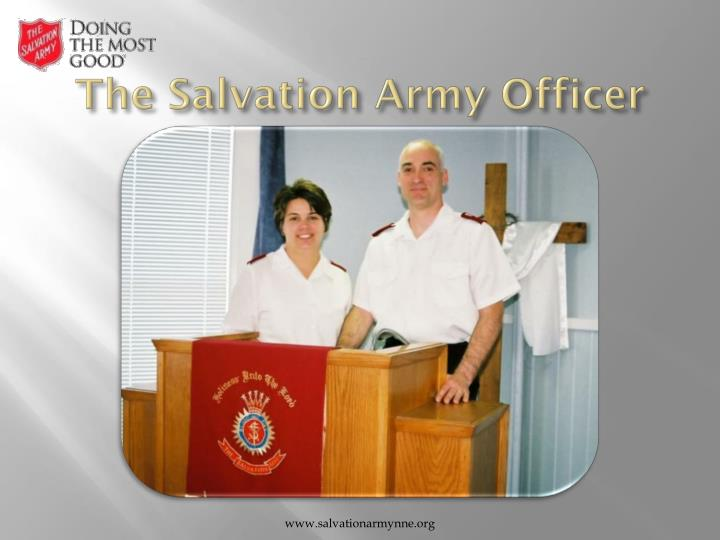 The Salvation Army Officer