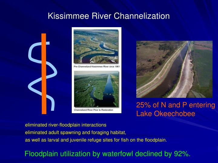 Kissimmee River Channelization