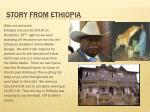 story from ethiopia