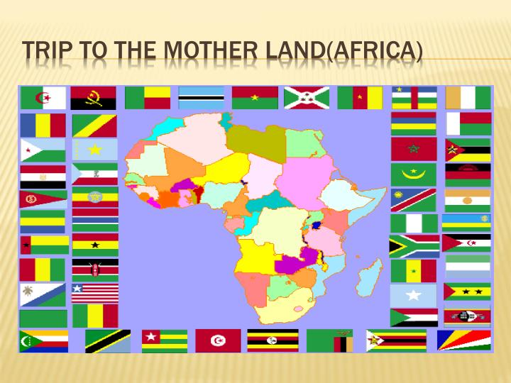Trip to the mother land africa