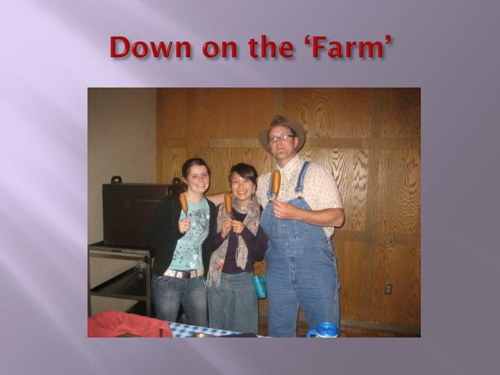 Down on the 'Farm'