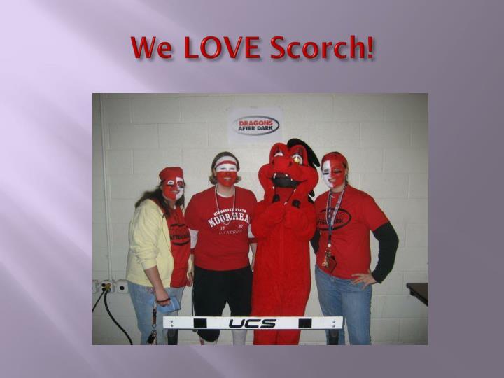 We LOVE Scorch!