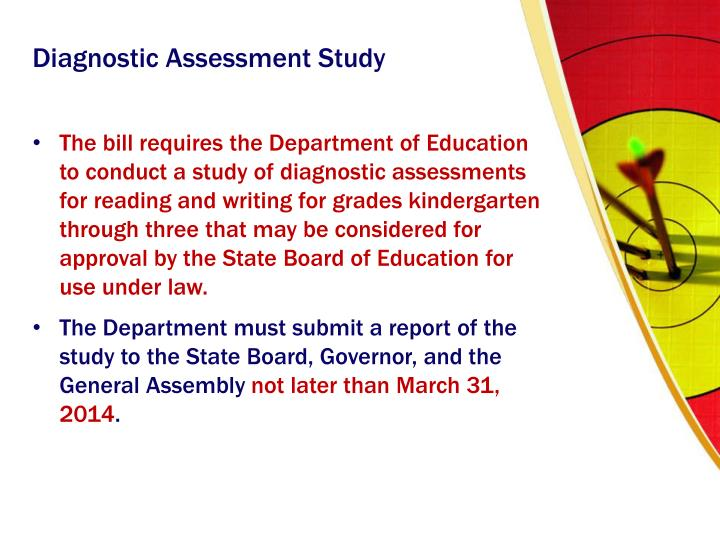 Diagnostic Assessment Study