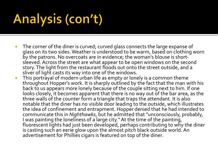 Analysis (