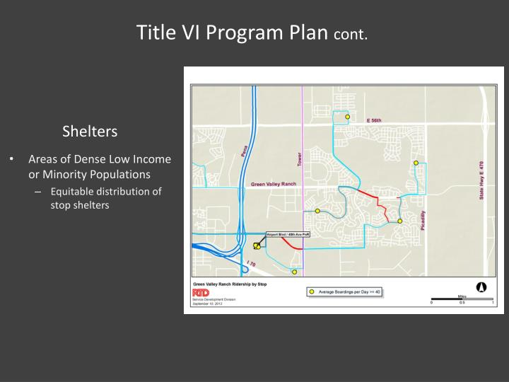 Title VI Program Plan