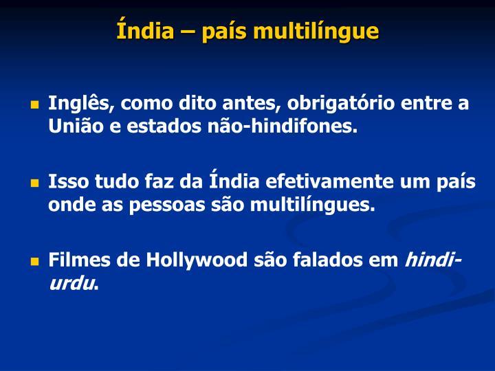 Índia – país