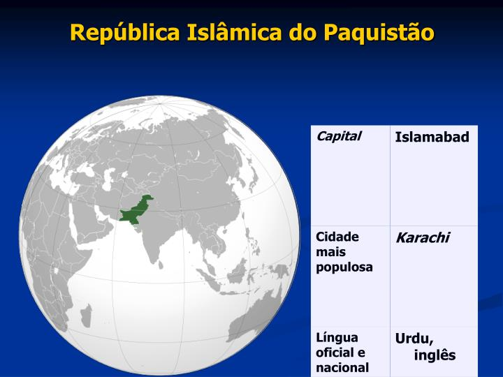 República Islâmica do Paquistão
