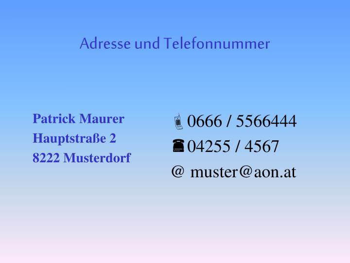 Patrick Maurer