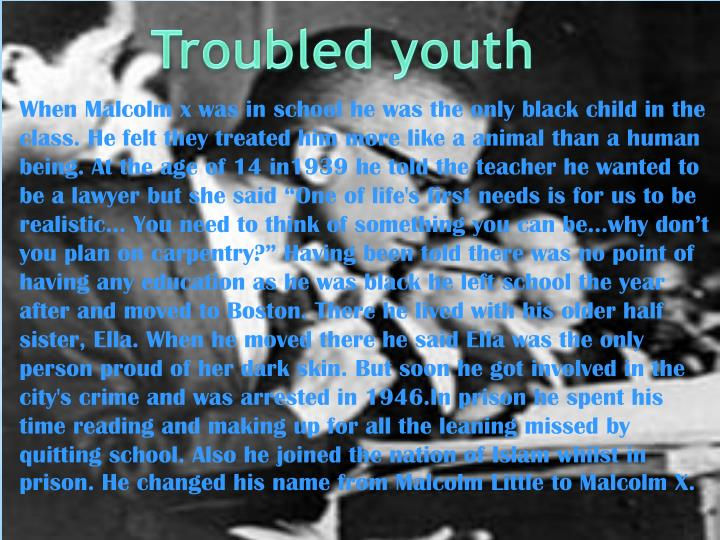 Troubled youth