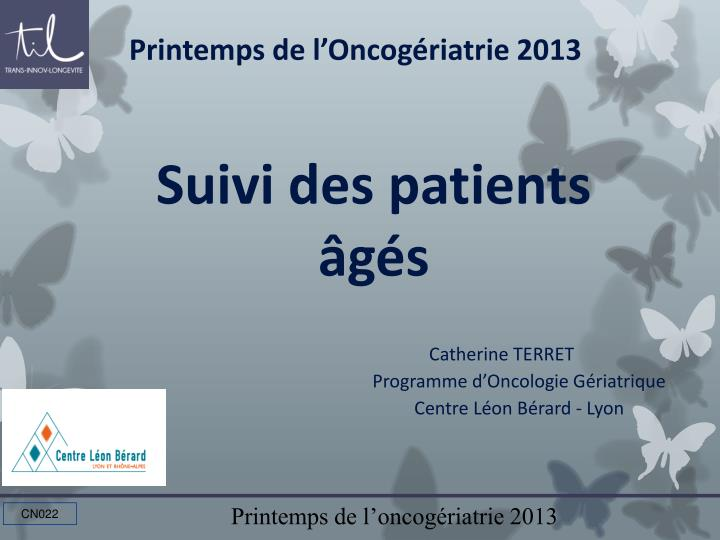 Suivi des patients g s1