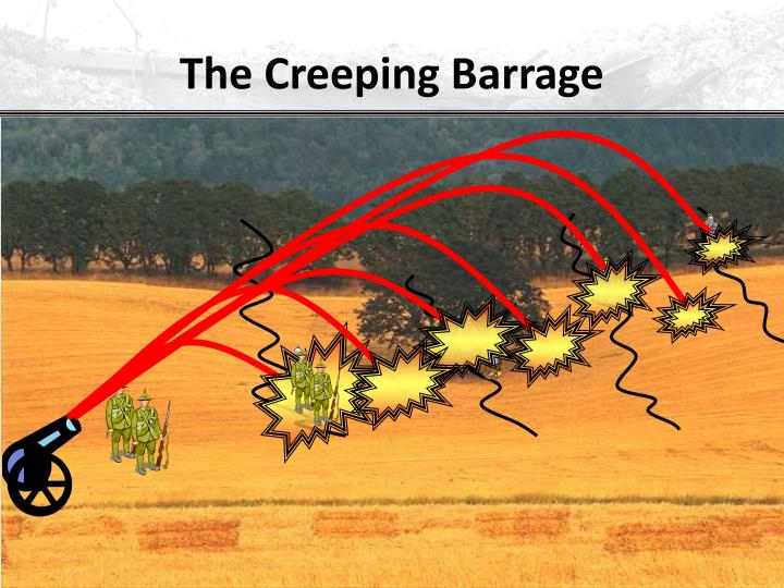 The Creeping Barrage